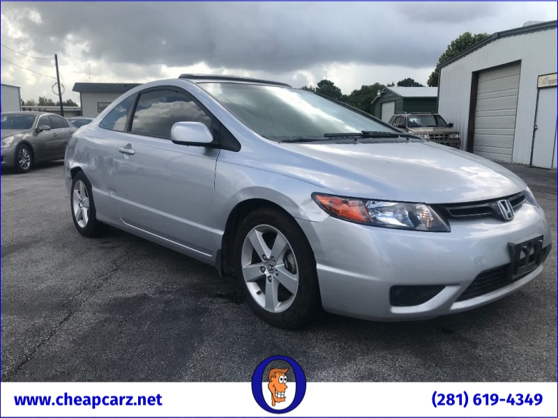 Honda Civic Coupe 2007 price $2,400