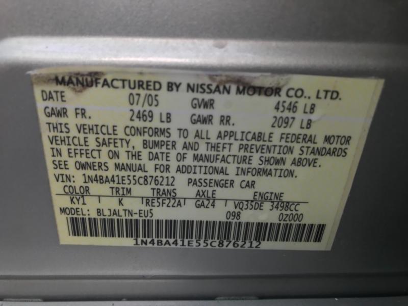 Nissan Maxima 2005 price $3,990