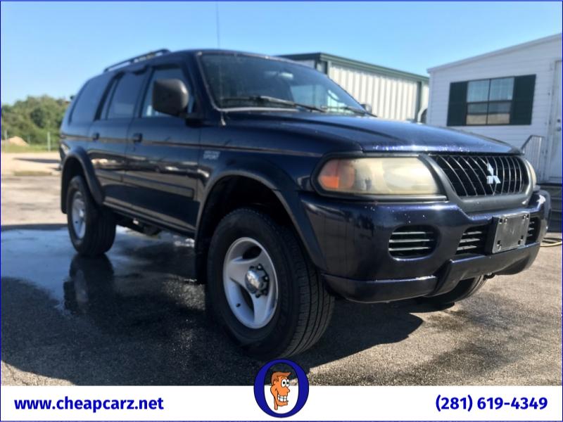 Mitsubishi Montero Sport 2002 price $2,590
