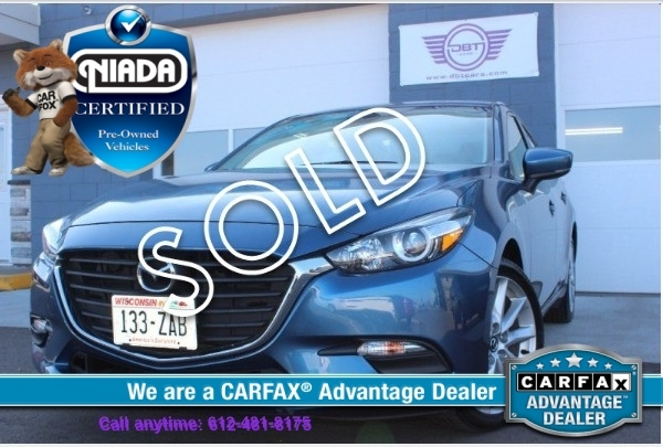 2017 mazda mazda3 touring leather certified pre owned w warranty monster car lot best mn car. Black Bedroom Furniture Sets. Home Design Ideas
