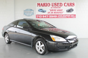 Honda Accord Cpe EX-L - WE FINANCE! ALL IS APPROVED! 2006