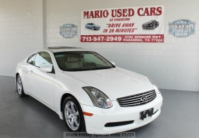 Infiniti G35 Coupe - LOW MILES! WE FINANCE! WE APPROVE! 2005