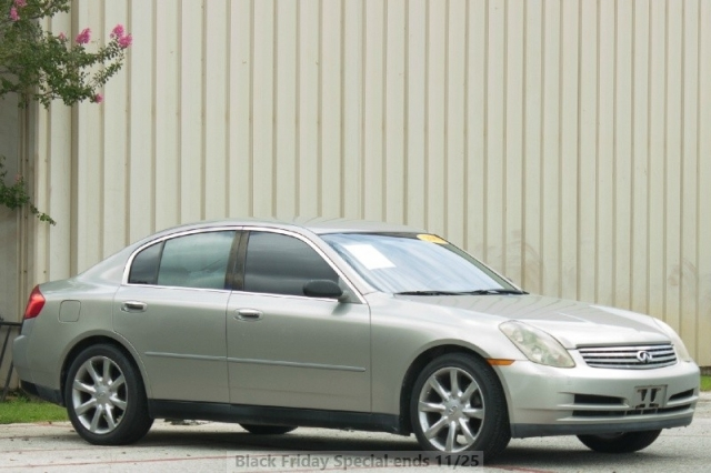 2003 Infiniti G35 - Low Miles - WE FINANCE!!! WE APPROVE!!!