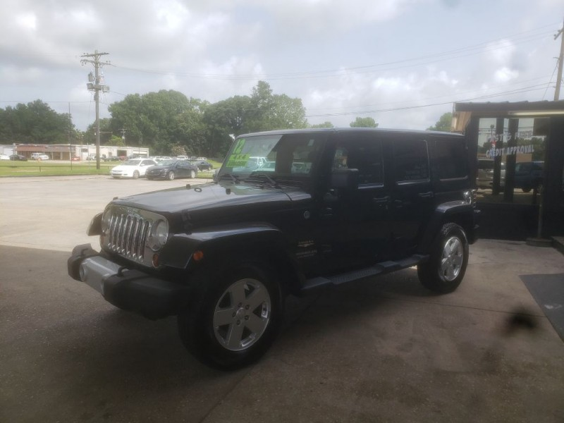 Jeep Wrangler Unlimited 2012 price