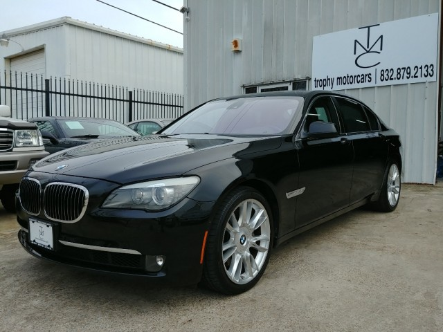 2010 BMW 760Li V12 Double Black, One Owner, Low miles Rare ...