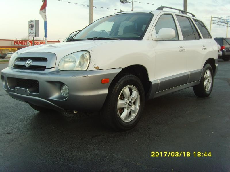 2005 hyundai santa fe 4dr gls fwd 2 7l auto inventory. Black Bedroom Furniture Sets. Home Design Ideas