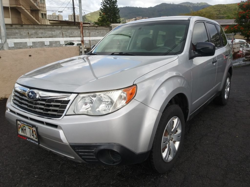 SUBARU FORESTER 2009 price $9,700