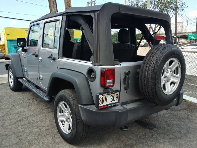 JEEP WRANGLER UNLIMI 2016 price $29,630