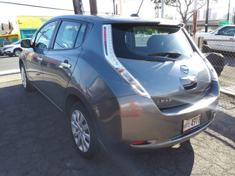 NISSAN LEAF 2015 price $8,400