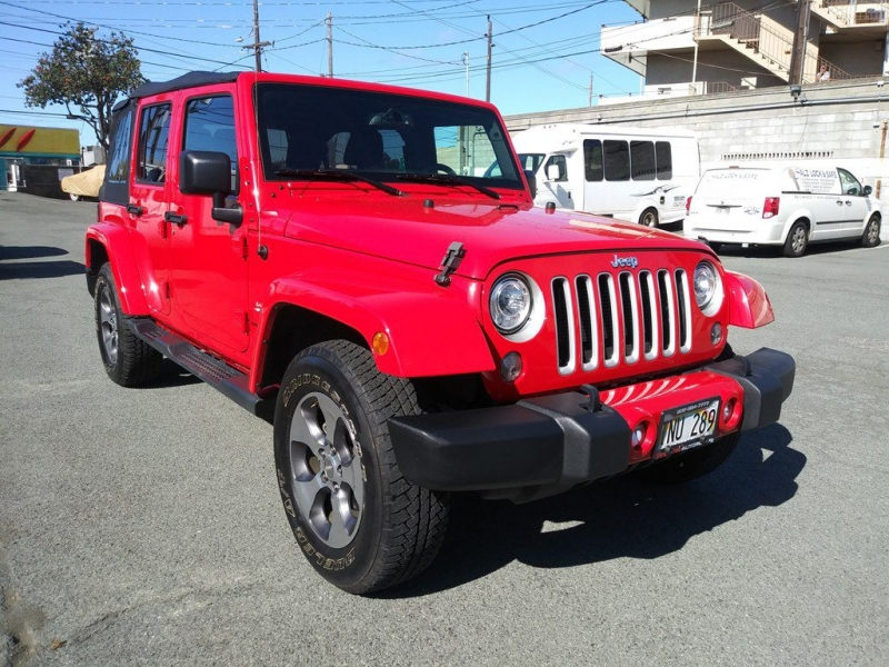 JEEP WRANGLER UNLIMI 2018 price $34,635