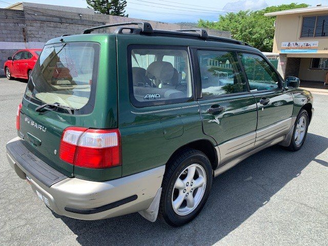 SUBARU FORESTER 2002 price $4,700