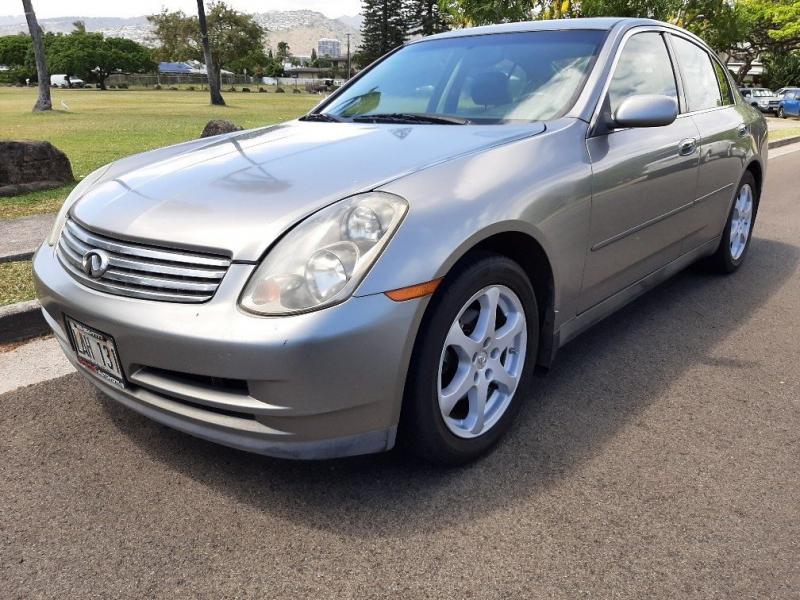 INFINITI G35X 2004 price $5,072