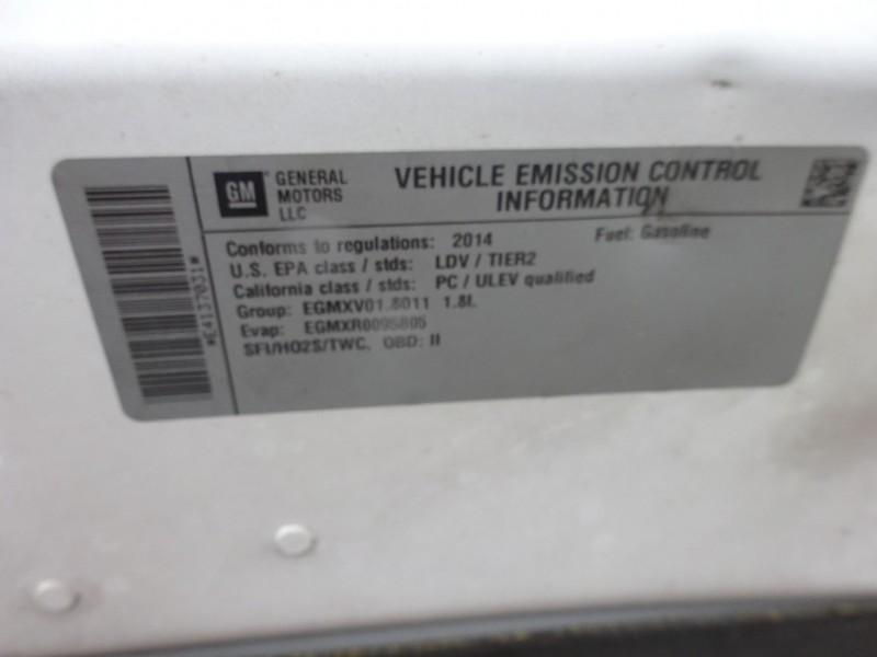 Chevrolet Sonic 2014 price $4,895