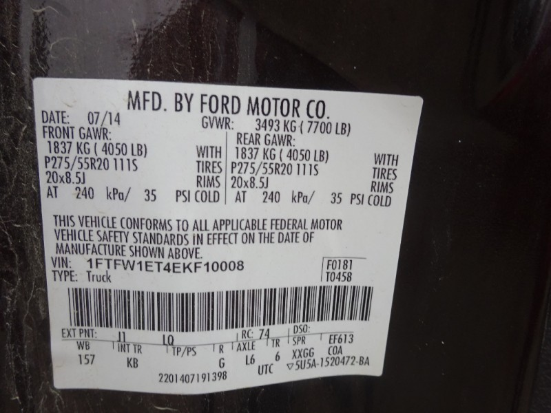 Ford F-150 2014 price $24,895
