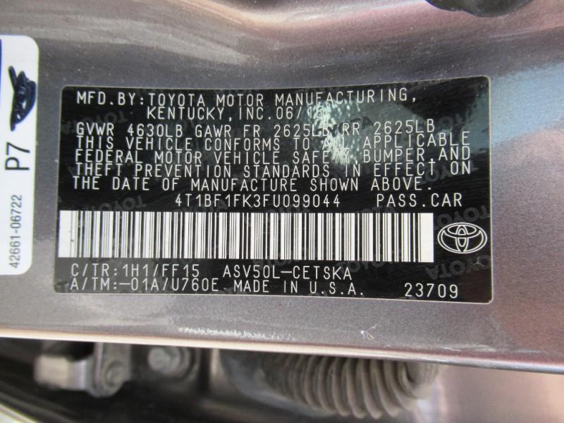 Toyota Camry 2015 price $11,895