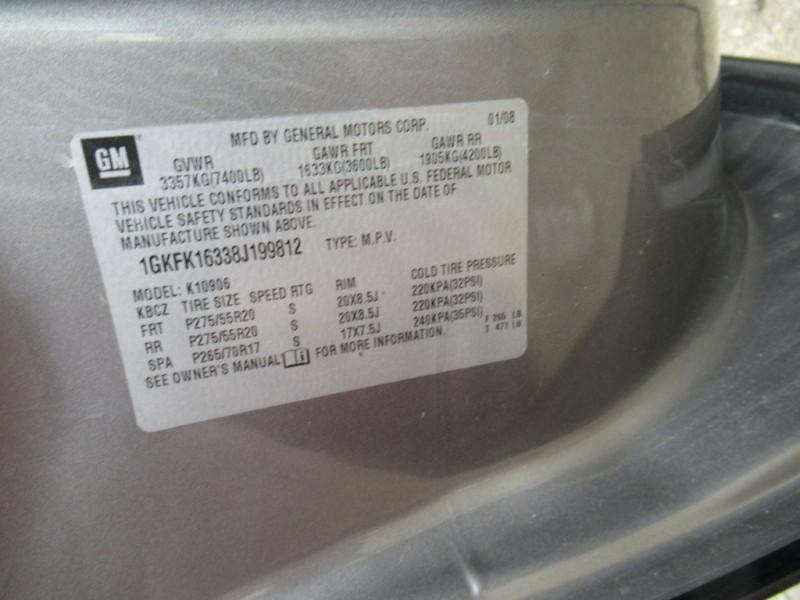 GMC Yukon XL 2008 price $6,595