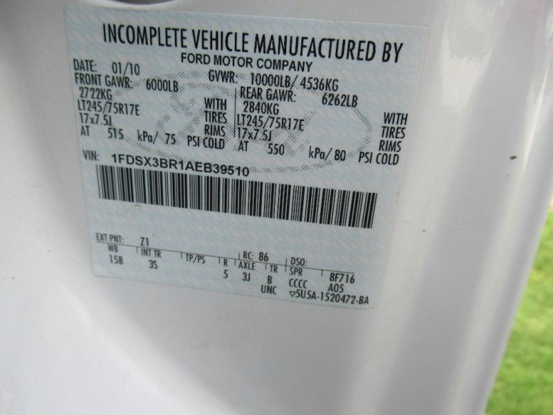 Ford Super Duty F-350 SRW 2010 price $9,495