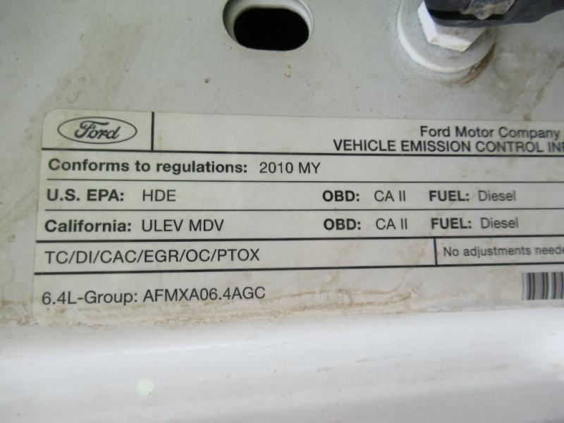 Ford Super Duty F-350 SRW 2010 price $9,095