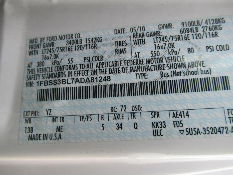 Ford Econoline Wagon 2010 price $7,995