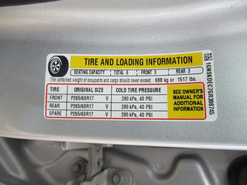 Chevrolet Tahoe 2016 price $16,995