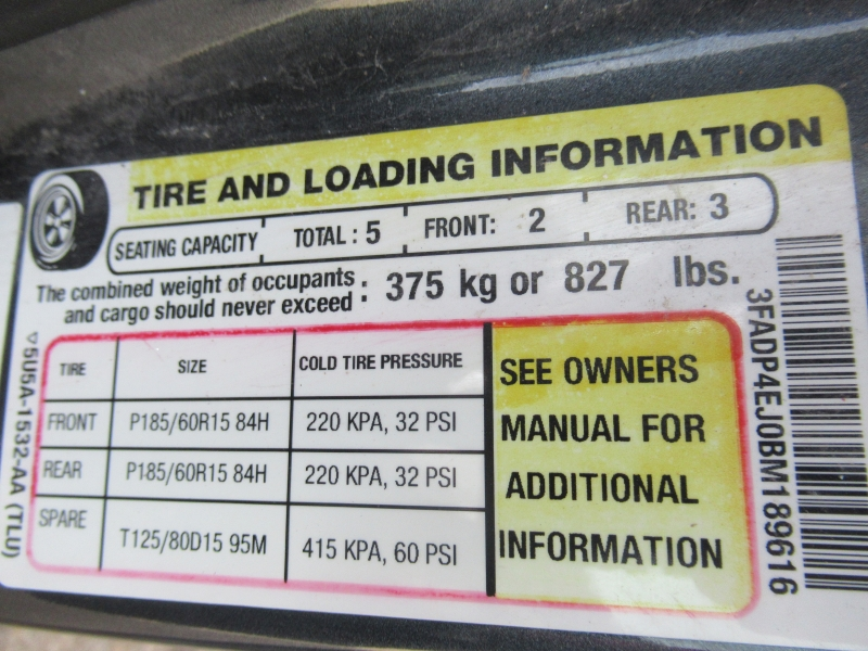 Ford Fiesta 2011 price $3,795