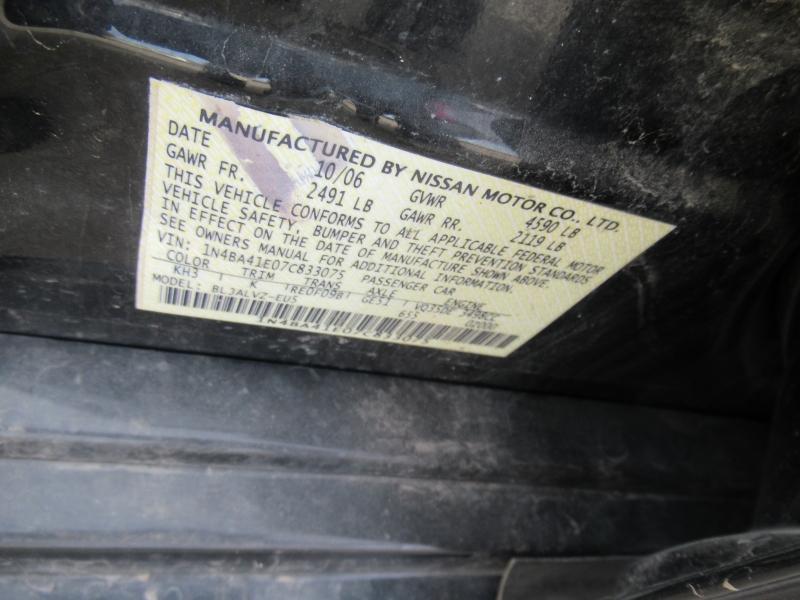 Nissan Maxima 2007 price $5,495