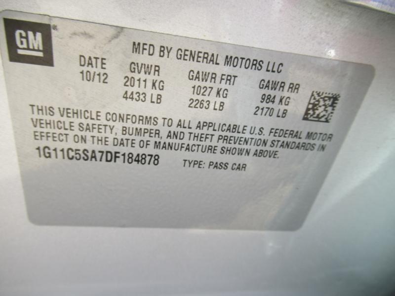 Chevrolet Malibu 2013 price $6,795