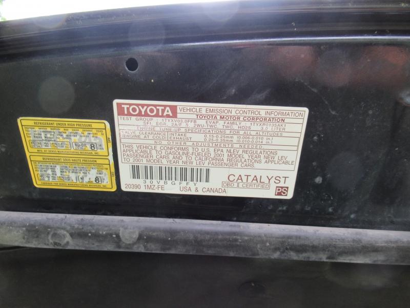 Toyota Camry Solara 2001 price $2,795