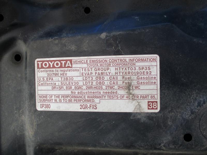 Toyota Highlander 2017 price $24,795