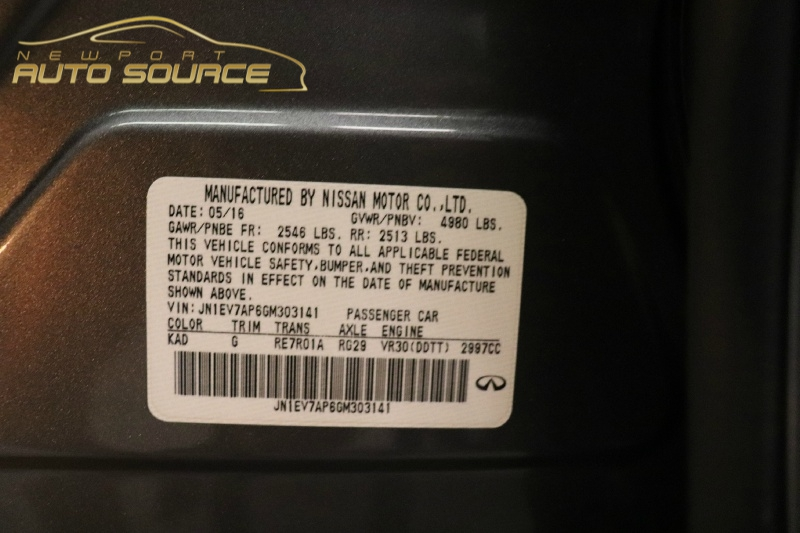 Infiniti Q50 2016 price $22,488