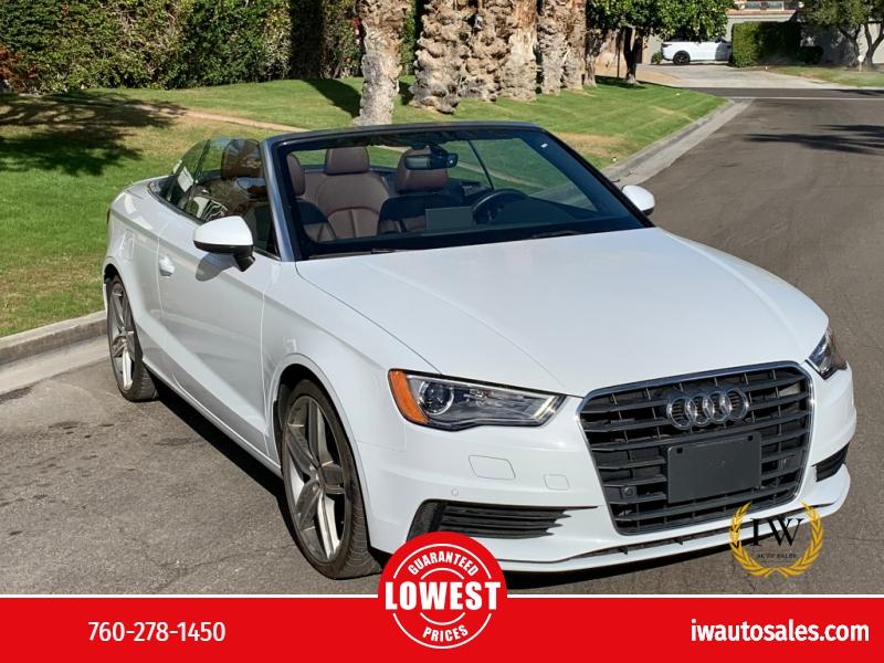Audi A3 2016 price $25,999