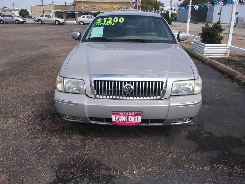 Mercury Grand Marquis 2007 price $8,995