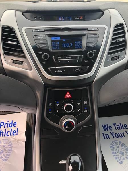 Hyundai Elantra 2015 price $7,500
