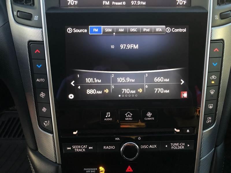Infiniti Q50 2015 price $24,500