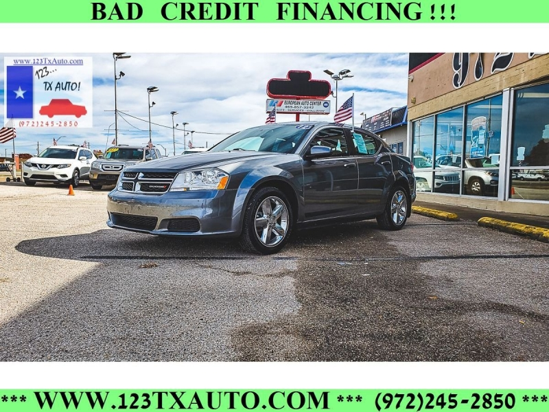 Dodge Avenger 2012 price **WE FINANCE!**