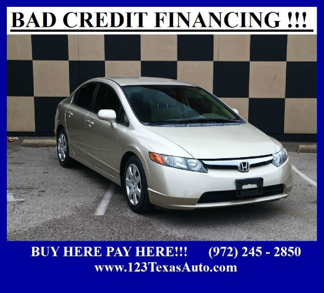 Honda Civic Sdn 2008 price $999 Down