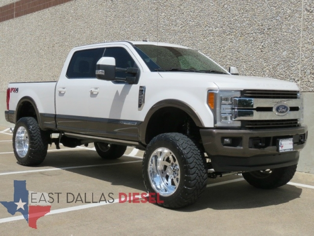 Ford Super Duty F-250 King Ranch 4WD Crew Cab Lifted Loaded - Inventory | East Dallas Diesel ...