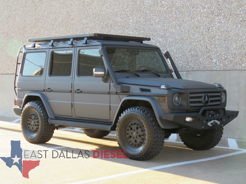 G class g500 4wd 5 0l overland ready custom kevlar lifted for Fort worth mercedes benz dealership