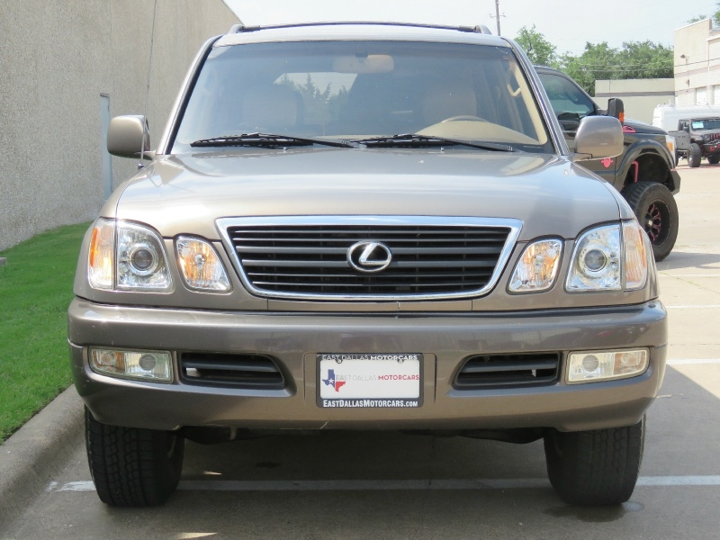 Lexus LX 470 Luxury SUV 1999 price $8,995