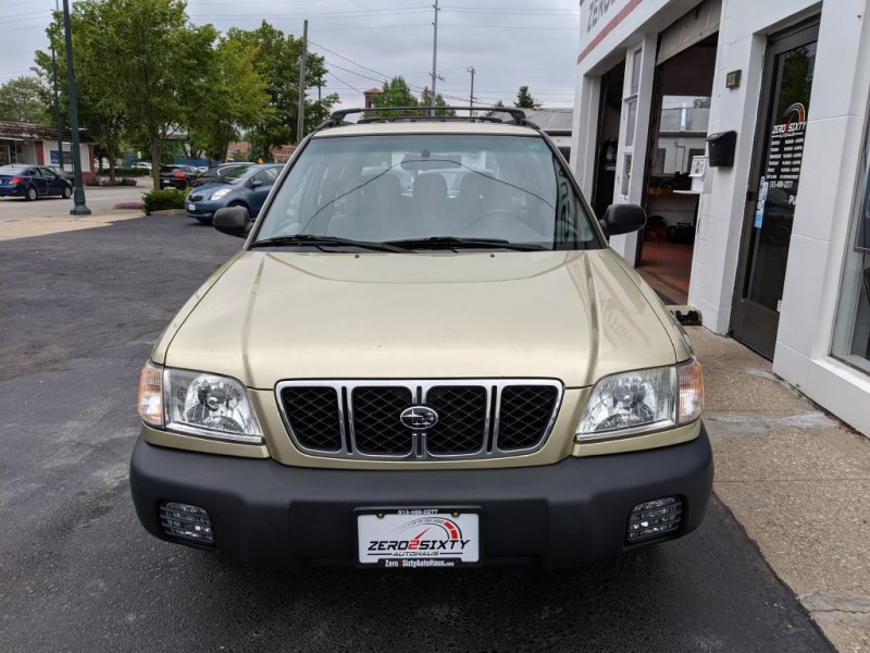 SUBARU FORESTER 2002 price $6,399