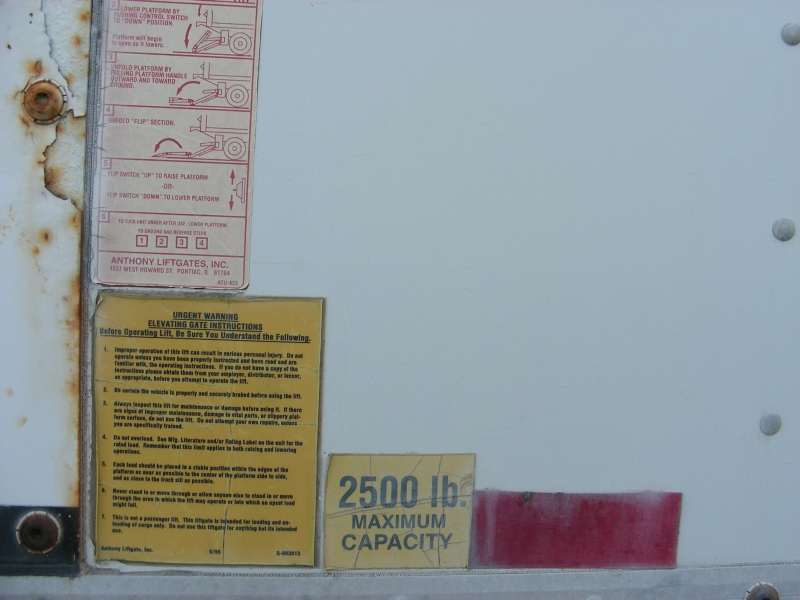 Hino Commercial 17.5 CUBE VAN 2006 price $17,995