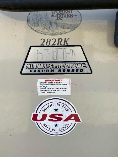 Salem Hemisphere Lite 282RK 2014 price $17,900