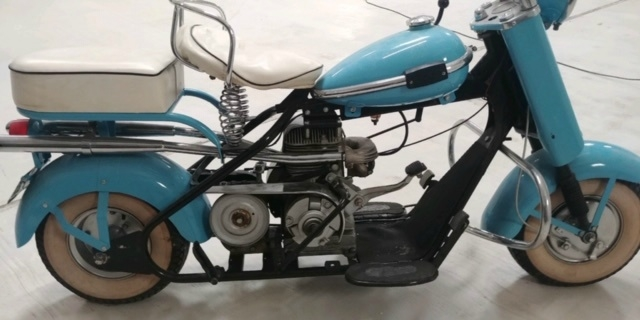Cushman Eagle Scooter 1957 price $7,500