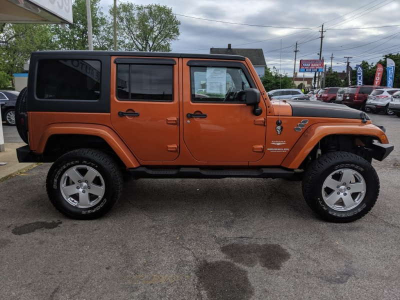 Jeep Wrangler Unlimited 2011 price $20,995