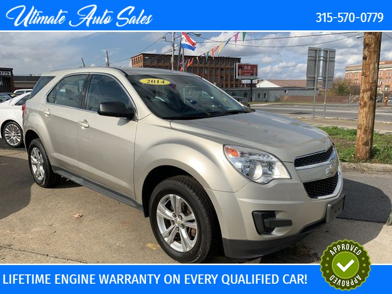Chevrolet Equinox 2014 price $10,495