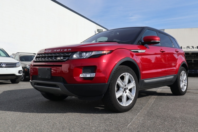 Land Rover Range Rover Evoque 2013 price $27,900