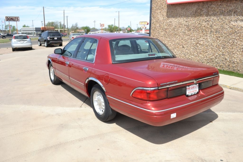 Mercury GRAND MARQUIS 1997 price $3,495