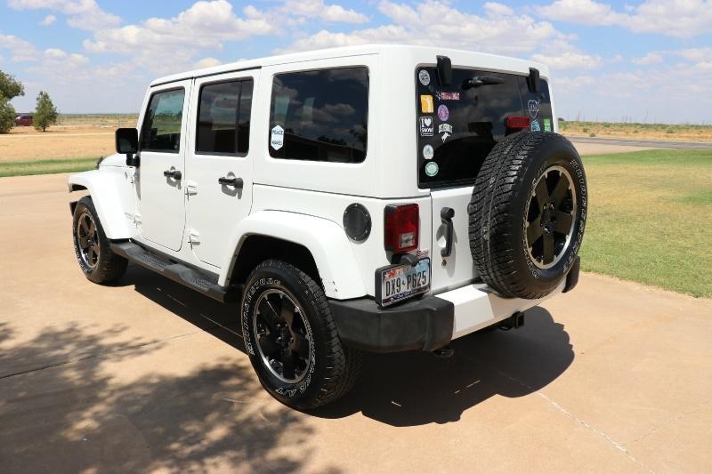 Jeep Wrangler Unlimited 2012 price $22,750