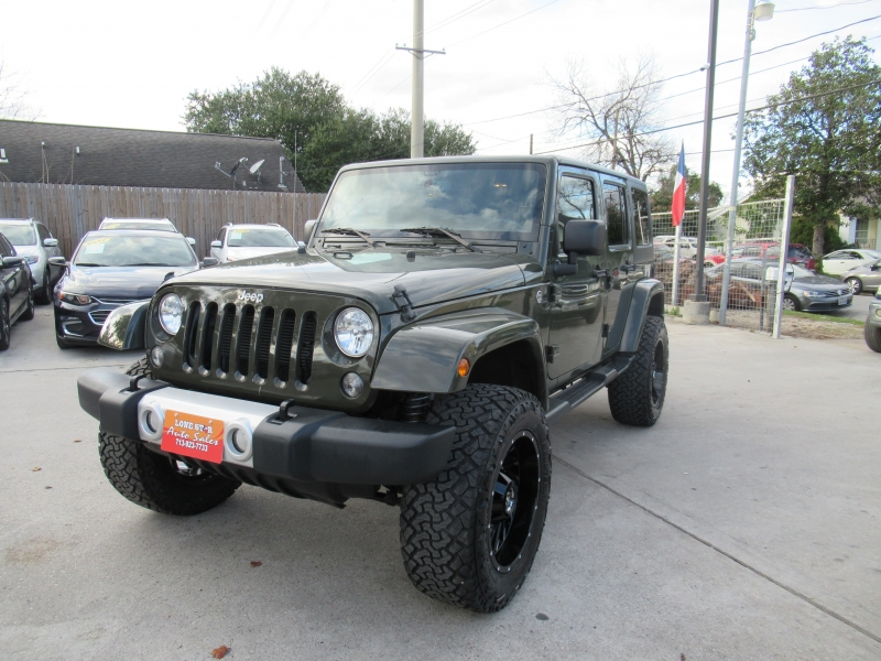 Jeep Wrangler Unlimited 2015 price $4,995
