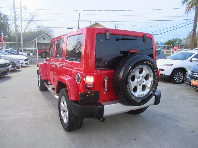 Jeep Wrangler Unlimited 2014 price $4,495